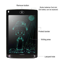 Load image into Gallery viewer, 8.5 inch LCD Writing Tablet Electronic Handwriting Graphics Board Draft Paper With Writing Pen - fommystore