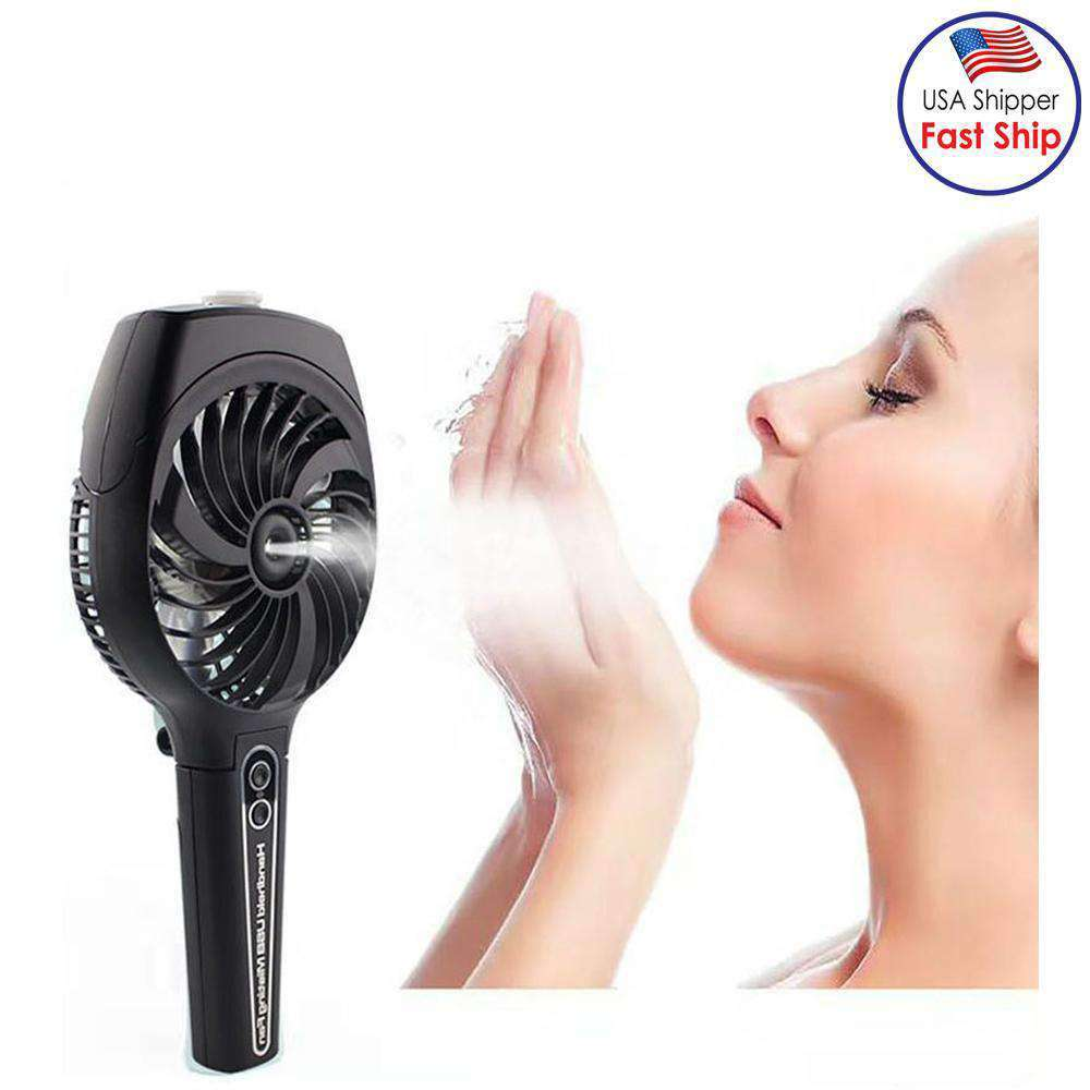 Portable Mini Charging Water spray With Foldable Fan | Fommy