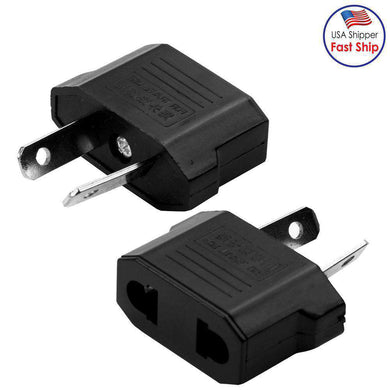 AMZER® High Quality US Plug to AU Plug AC Wall  Plug Adaptor (3 Pack Black) - fommystore