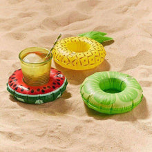 Load image into Gallery viewer, Inflatable Lemon Shaped Floating Drink Holder - fommystore