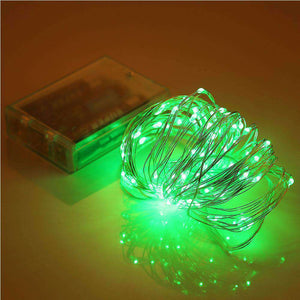 AMZER Fairy String Light 100 LED 10m Waterproof AA Battery Operated Festival Lamp Decoration Light Strip