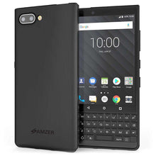 Load image into Gallery viewer, AMZER Pudding Soft TPU Skin Case for BlackBerry Key2 - Black - fommystore