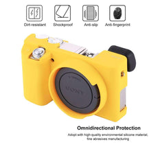 Load image into Gallery viewer, AMZER® Soft Silicone Protective Case for Sony ILCE-6000 - Yellow - fommystore