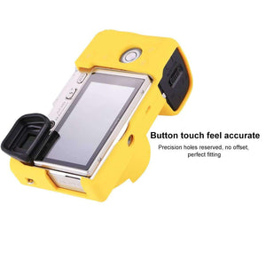 AMZER® Soft Silicone Protective Case for Sony ILCE-6000 - Yellow - fommystore