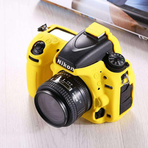 AMZER® Soft Silicone Protective Case for Nikon D750 - Yellow - fommystore