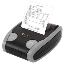 Load image into Gallery viewer, QS-5806 Portable 58mm Bluetooth POS Receipt Thermal Printer - Grey - fommystore
