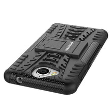 Load image into Gallery viewer, AMZER Shockproof Warrior Hybrid Case for Huawei Y5 2017 - Black/Black - fommystore