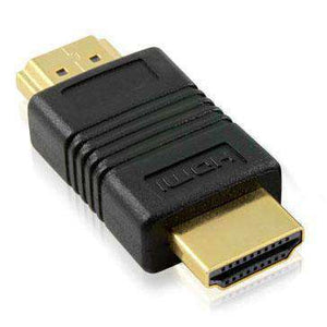 AMZER® HDMI 19 Pin Male to HDMI 19Pin Male Adapter Support HD TV, Xbox 360, PS3 - Black (Pack of 2) - fommystore