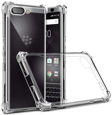 AMZER Pudding TPU Soft Skin X Protection Case for BlackBerry Key2 - Clear - fommystore