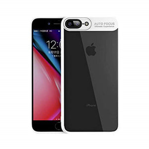 AMZER® Bare Hands Hybrid Protection Case - White for iPhone 7 Plus