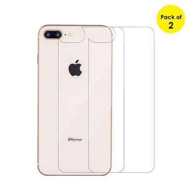 AMZER 2.5D Curved Back HD Clear Tempered Glass for iPhone 7 Plus - 2 Pack - fommystore