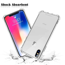 Load image into Gallery viewer, AMZER Pudding TPU Soft Skin X Protection Case for iPhone Xs Max - Crystal Clear - fommystore