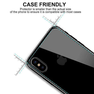 2.5D Curved Back Tempered Glass HD Screen Protector for iPhone Xs Max - Clear - fommystore