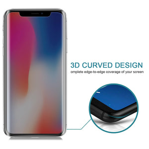 AMZER 9H Case friendly Privacy 3D Tempered Glass Screen Protector for iPhone X/ XS/ 11 Pro - fommystore