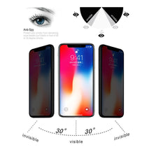 Load image into Gallery viewer, AMZER 9H Case friendly Privacy 3D Tempered Glass Screen Protector for iPhone X/ XS/ 11 Pro - fommystore