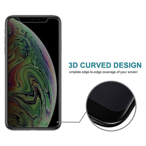AMZER 9H Case friendly Privacy 3D Tempered Glass Screen Protector for iPhone Xs Max/ iPhone 11 Pro Max - fommystore