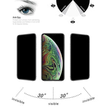 Load image into Gallery viewer, AMZER 9H Case friendly Privacy 3D Tempered Glass Screen Protector for iPhone Xs Max/ iPhone 11 Pro Max - fommystore