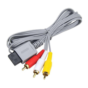 AMZER Audio Video Cable for Nintendo Wii - Grey - fommystore