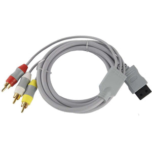 AMZER® 1.5m S-Video Cable for Wii - Grey - fommystore