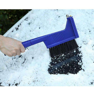 AMZER® 5 in 1 Car Snow Shovel Auto Ice Scraper Winter Road Safety Cleaning Tools Defrost Deicing Rem - fommystore