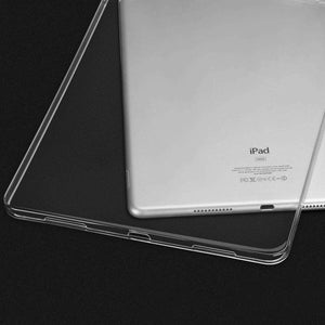 AMZER Ultra Slim 0.75mm Shockproof TPU Case for Apple iPad Pro 12.9 Inch 2018 - Clear - fommystore