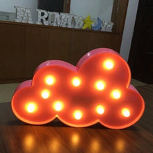 Load image into Gallery viewer, AMZER Creative Shape Warm White LED Decoration Party Star Lamp Light