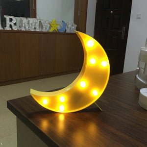 AMZER Creative Shape Warm White LED Decoration Light Party Festival Wedding Lamp Light - fommystore