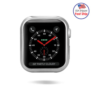 AMZER Bumper TPU Soft Protective Back Cover for Apple Watch Series 4 40mm
