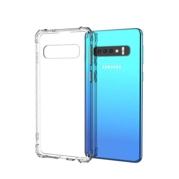 AMZER Pudding TPU X Protection Soft Skin Case for Samsung Galaxy S10 - Clear - fommystore