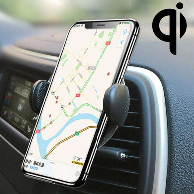 Adjustable Air Vent Bracket Phone Holder Fast Wireless Charging Car Mount - fommystore