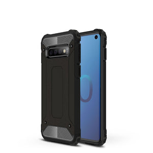 AMZER Hybrid Dual Layer Rugged Armor Case for Samsung Galaxy S10