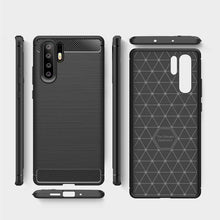 Load image into Gallery viewer, AMZER Rugged Armor Carbon Fiber Design ShockProof TPU for Huawei P30 Pro - fommystore