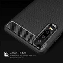 Load image into Gallery viewer, AMZER Rugged Armor Carbon Fiber Design ShockProof TPU for Huawei P30 - fommystore