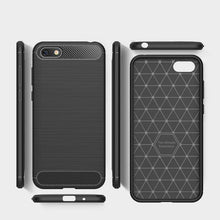 Load image into Gallery viewer, AMZER Rugged Armor Carbon Fiber Design ShockProof TPU for Huawei Y5 Prime 2018 - fommystore