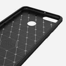 Load image into Gallery viewer, AMZER Rugged Armor Carbon Fiber Design ShockProof TPU for Huawei Enjoy 8 Plus, Huawei Y9 (2018) - fommystore