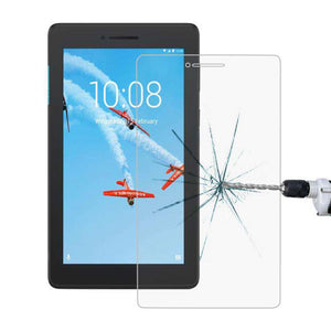 AMZER 9H Curved Full Screen Tempered Glass Film Screen Protector For Lenovo Tab E7 - Clear - fommystore