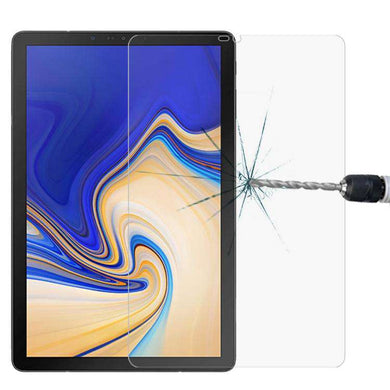 AMZER 9H Curved Full Screen Tempered Glass Film Screen Protector For Samsung Galaxy Tab S4 10.5 SM-T830/SM-T837/SM-T835 - Clear - fommystore