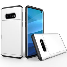 Load image into Gallery viewer, AMZER Shockproof Hybrid Case With Card Slot for Samsung Galaxy S10e - fommystore