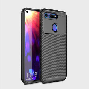 AMZER Hybrid Carbon Fiber Texture TPU Case for Huawei Honor V20 - Black