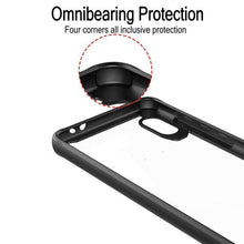 Load image into Gallery viewer, AMZER SlimGrip Hybrid Case for Vivo X23 - Black - fommystore