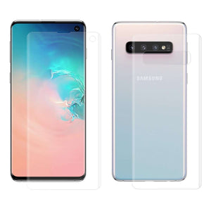 AMZER ShatterProof Full Body Coverage Screen Protector for Samsung Galaxy S10
