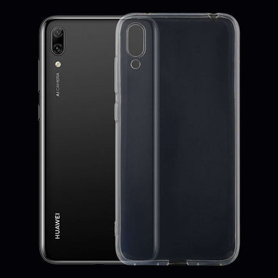 AMZER Ultra thin TPU Soft Gel Protective Case for Huawei Enjoy 9 - Clear - fommystore