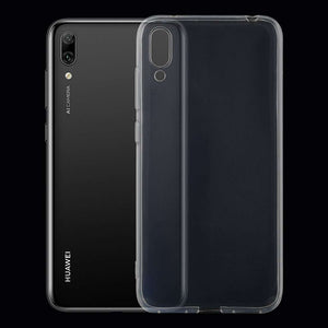 AMZER Ultra thin TPU Soft Gel Protective Case for Huawei Enjoy 9 - Clear