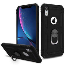 Load image into Gallery viewer, AMZER Sainik Case With 360° Magnetic Ring Holder for iPhone Xr - fommystore