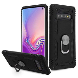 AMZER Sainik Case With 360° Magnetic Ring Holder for Samsung Galaxy S10 - fommystore