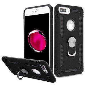AMZER Sainik Case With 360° Magnetic Ring Holder for iPhone 7 Plus/8 Plus - fommystore