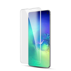 AMZER 9H 3D Full Screen Film Screen Protector for Samsung Galaxy S10 (Support Fingerprint Unlock)