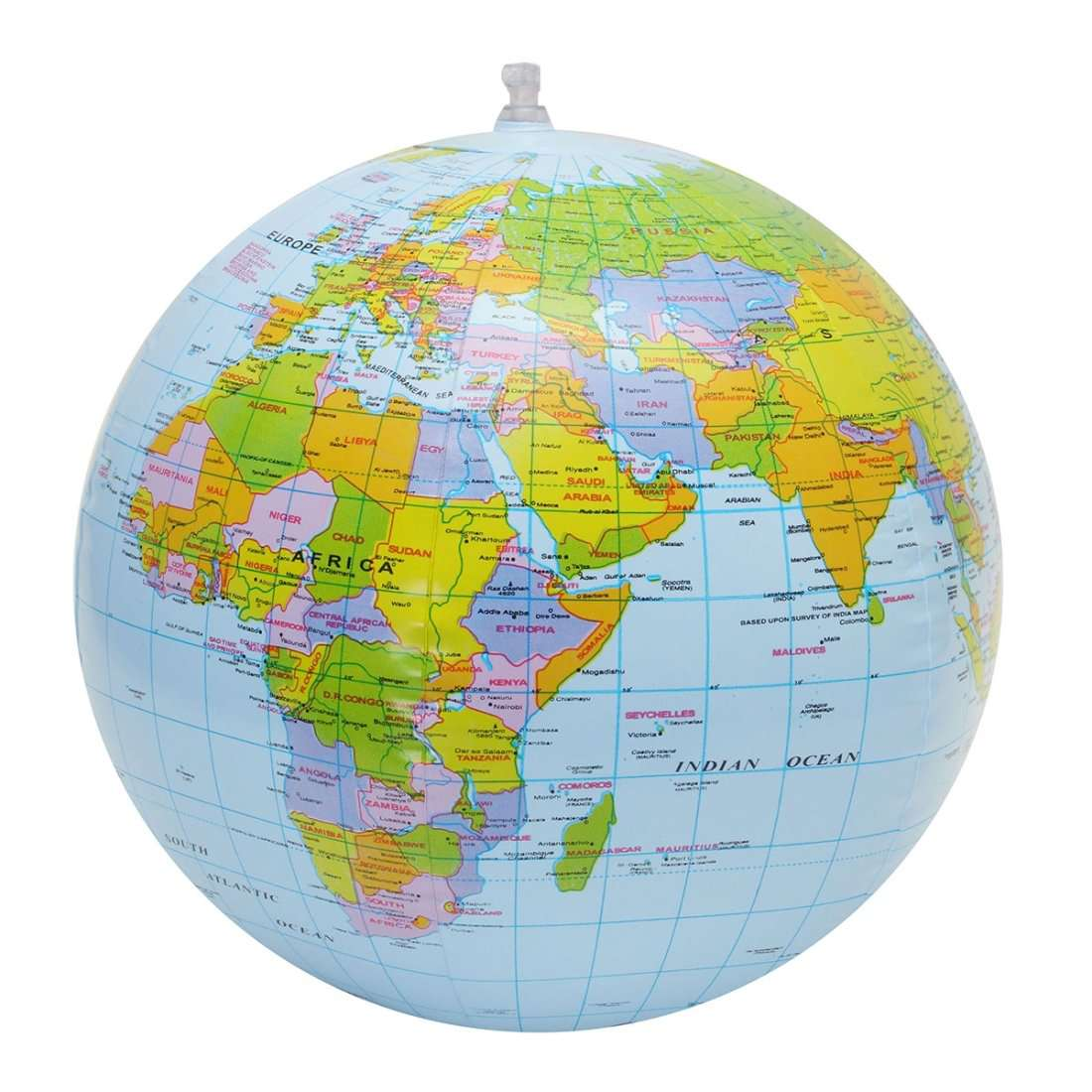 Inflatable global World Map   Fommy