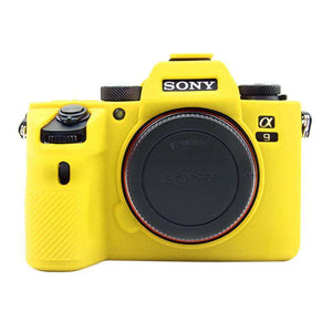 AMZER Soft Silicone Protective Case for Sony A9 / ILCE-9 - Yellow