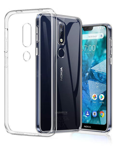 AMZER Ultra Slim Clear TPU Soft Protective Case for Nokia 4.2